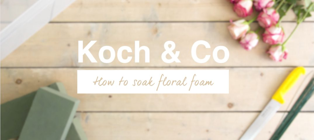 How To Soak Floral Foam