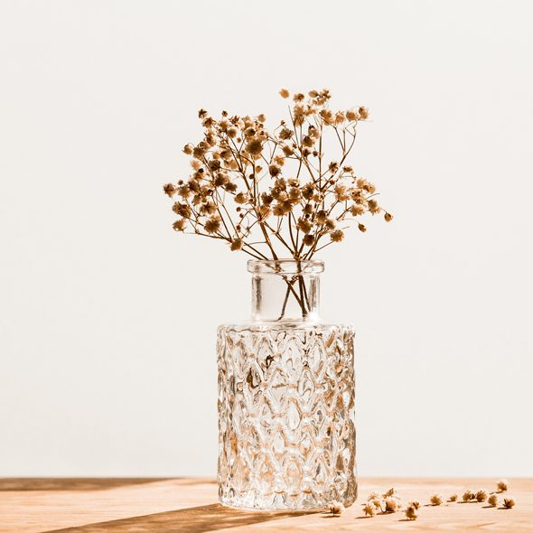Dried Flowers Vase image