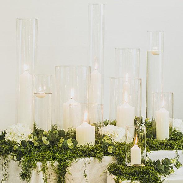 Pillar Candle display