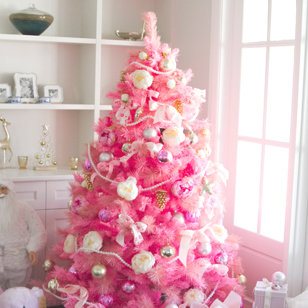 rose pink christmas
