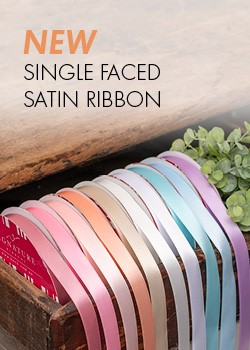 New Single Faced Satin Ribbon