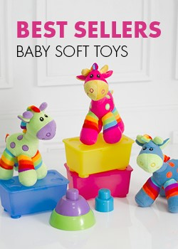 BEST SELLERS BABY SOFT TOYS