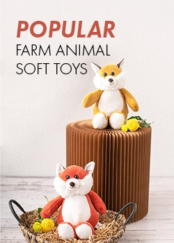 Farm Animal Soft Toys