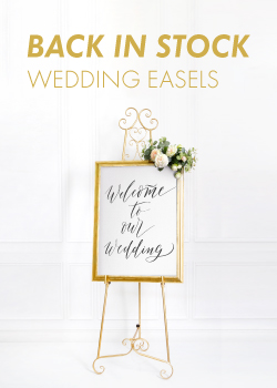 WEDDING EASELS