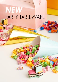 NEW PARTY TABLEWARE