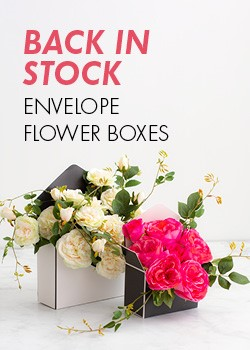 Envelope Flower Boxes