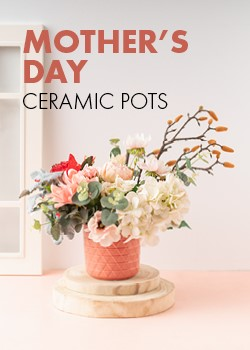 Mothers Day Ceramic Pots