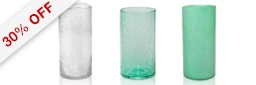 Seville Premium Glass Vase Value Pack