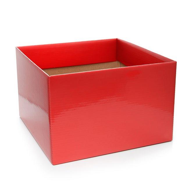 Posy Box Large Red (22x14cmH)