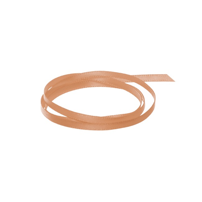Ribbon Satin Deluxe Double Faced Copper (3mmx50m)
