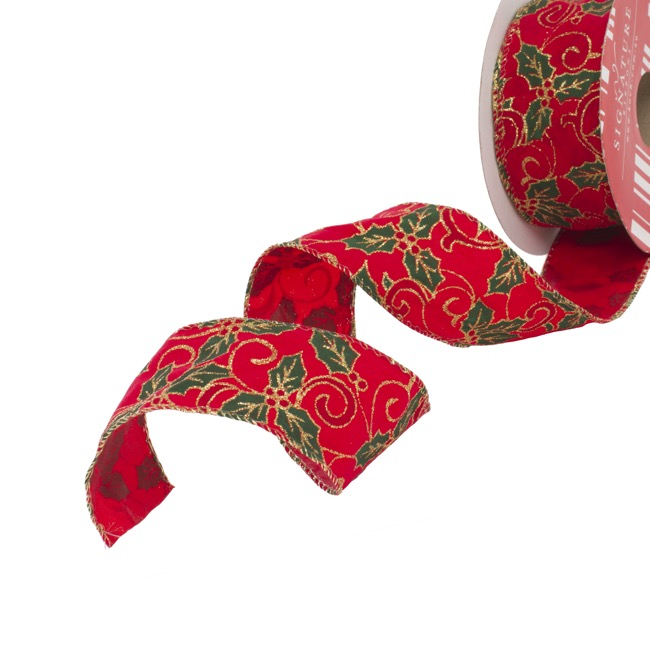 Christmas Ribbon.Christmas Ribbons Christmas Bows At Wholesale Prices