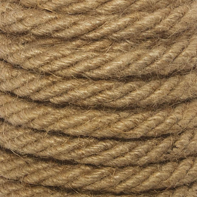 Natural Jute Rope 4ply (10mmx10m)