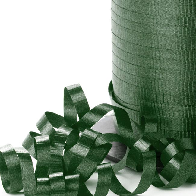 Ribbon Curling Hunter Green (5mmx450m)
