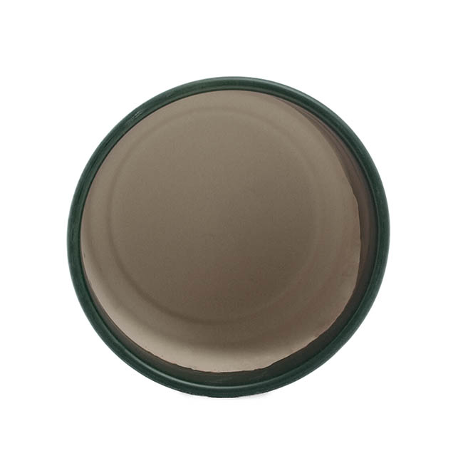 Ceramic Loreto Pot Matte Deep Teal (18DX17.5cmH)