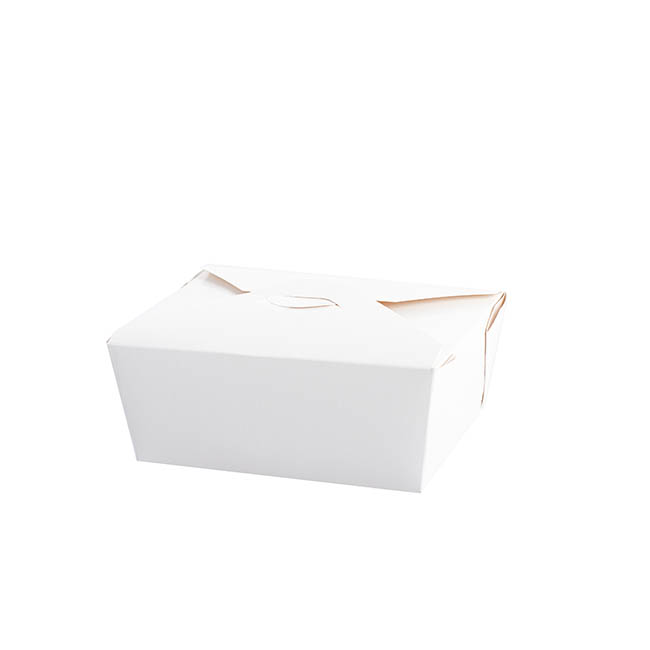 Food Pail Small Pack No.1.5 White (140x110x60mmH)