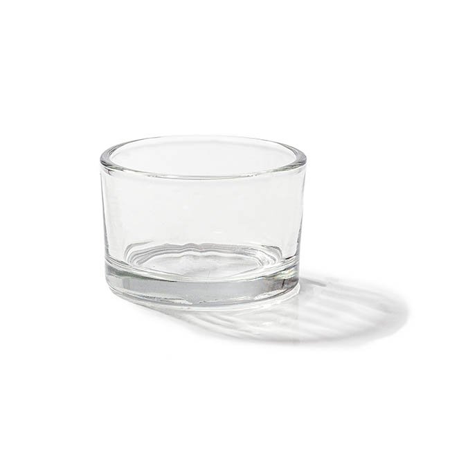 Glass Tealight Candle Holder Classic Clear (5.2x3.2cmH)