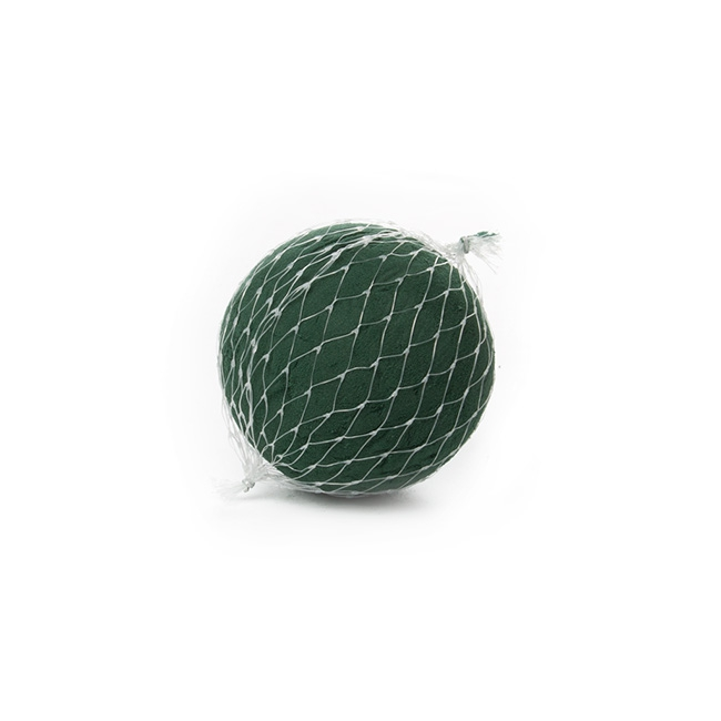 Oasis IDEAL Floral Foam Ball Netted Sphere (12cm)