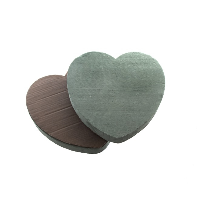 Oasis Heart Large Paper Base 35cm (14)