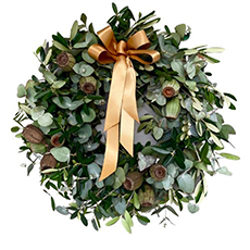 - Interflora Christmas Morning Wreath