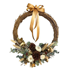 - Interflora Modern Christmas Wreath