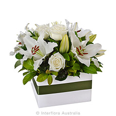 Interflora Harmony Elegant Box Arrangement