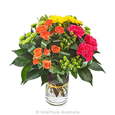 - Interflora Sassy Bright Grouped Bouquet