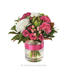 - Interflora Pink Lady Mixed Posy