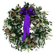 - Interflora They Shall Not Grow Old Wreath