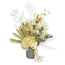 - Interflora Neutral Dried Flower Arrangement