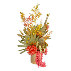 - Interflora Bright Dried Flower Arrangement