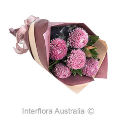 - Interflora Scarlett Disbud Chrysanthemum Wrap