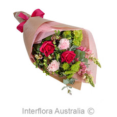 - Interflora Cora Bright Mixed Wrap