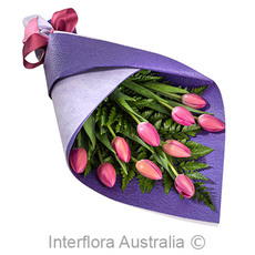- Interflora Perfect Mum Pink Tulips