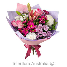 - Interflora Happy Wife, Happy Life Mixed Pink Arrangement