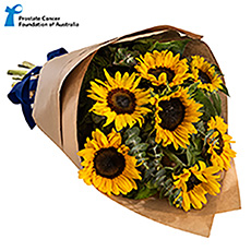- Interflora Bunch Of Courage Sunflower Wrap