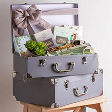 - Deluxe Suitcase Hamper
