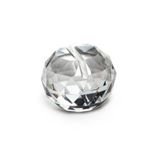 Reception Decoration - Name Card Holder Crystal Ball Small Clear (35mmD)