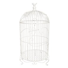 Wedding Birdcage D36x65cmH White