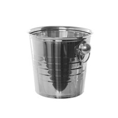 Reception Decoration - Wine Cooler Stainless Steel (21.5x20cmH) Silver