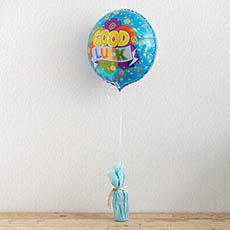 Foil Balloon 17 (42.5cm Dia) Good Luck
