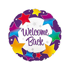 Foil Balloons - Foil Balloon 17 Round Welcome Back