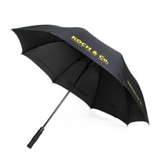 Premium Gifts & Premium and Corporate - Umbrella Large w/Koch Logo (150cmD) Black