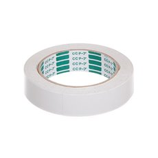 Adhesive Tapes - Doubled Sided Tape (25mm x 25m) White