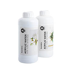 Acrylic Water - Acrylic Water 2 Part Clear Floral Setting Resin 1.8L