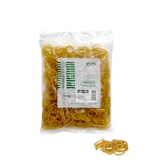 Rubber Bands - Rubber Bands Bag 100g Size 08 Yellow (25mmLx1.5mmW)
