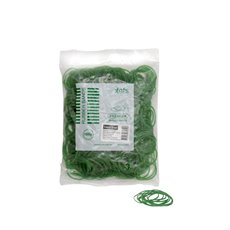 Rubber Bands - Rubber Bands Bag 100g Size 12 Green (42mmLx1.5mmW)