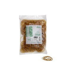 Rubber Bands - Rubber Bands Bag 100g Size 12 Natural (42mmLx1.5mmW)