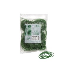 Rubber Bands - Rubber Bands Bag 100g Size 16 Green (60mmLx1.5mmW)