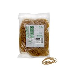 Rubber Bands - Rubber Bands Bag 100g Size 16 Natural (60mmLx1.5mmW)
