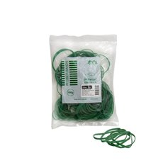 Rubber Bands - Rubber Bands Bag 100g Size 32 Green (75mmLx3mmW)